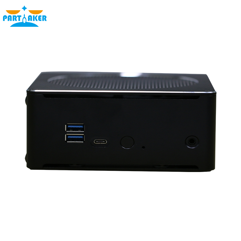 Partaker B18 Nuc Intel i9 8950HK 6 Core 12 Threads Mini <strong>PC</strong> Win 10 Pro DDR4 Mini <strong>PC</strong> AC Wifi Desktop Computer HD Mini DP
