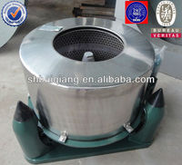 Industrial centrifugal hydro extractor/cow dung manure dewatering machine/laundry dewatering machine