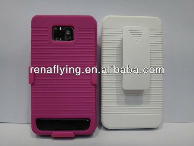 new belt clip case cover for samsung galaxy s2/i9100