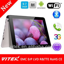 9.7 inch 3G Phone call tablet