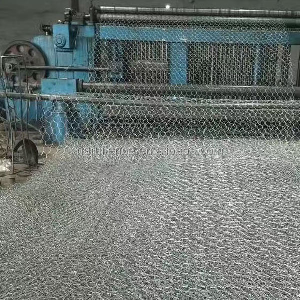 high quality galvanized aluminum coated steel wire galfan wire gabion basket