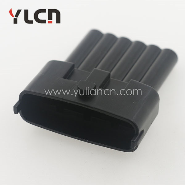 nozzle 6 pin waterproof auto accelerator pedals connector types of automotive electrical connectors