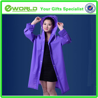 Promotional Environmental EVA Poncho raincoat
