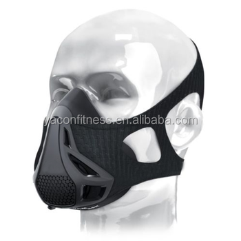 Workout Mask 3.0 4-Level Altitude Elevation Simulating Oxygen Resistance Training for Running Jogging Athletic Fitness Exercise
