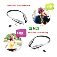 HBS900 Bluetooth 4.0 single ear headset,bluetooth headset caller display