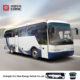 Luxury diesel city bus transport route vip bus with zero emission