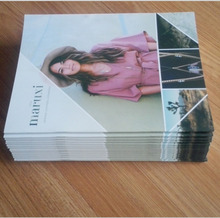 2016 custom cheap A4 Paper Catalog printing with high quality