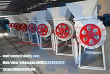 High advanced PP PE PET Recycled Plastic Pellet Machine Extruder