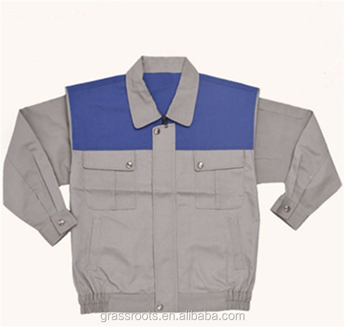 Guanghzou Factory custom  polyester   Unisex  new design   workwear fireproof  good quality  uniform