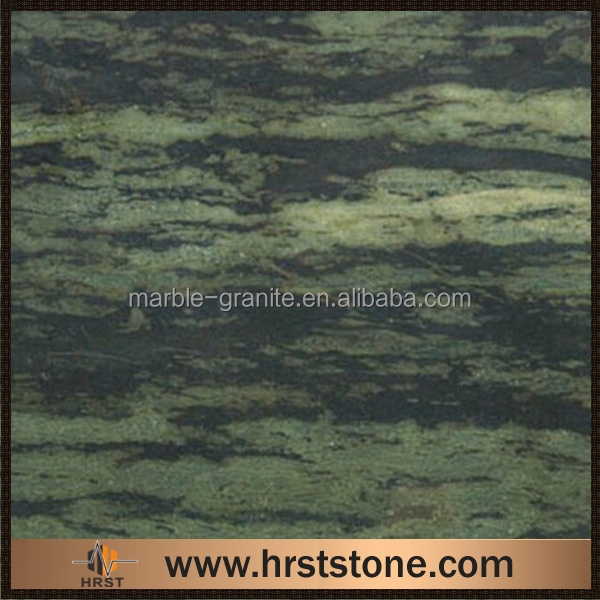 green Verde Bamboo granite