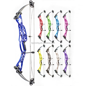 JUNXING M106 40-60lbs draw weight Shooting target compound bow for both right and left hand China wholesale price