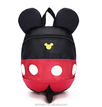 Cute cartoon mickey mouse school kids backpack