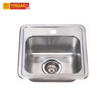 Factory Direct OEM Single Bowl Hotel Stainless Steel Kitchen Sink