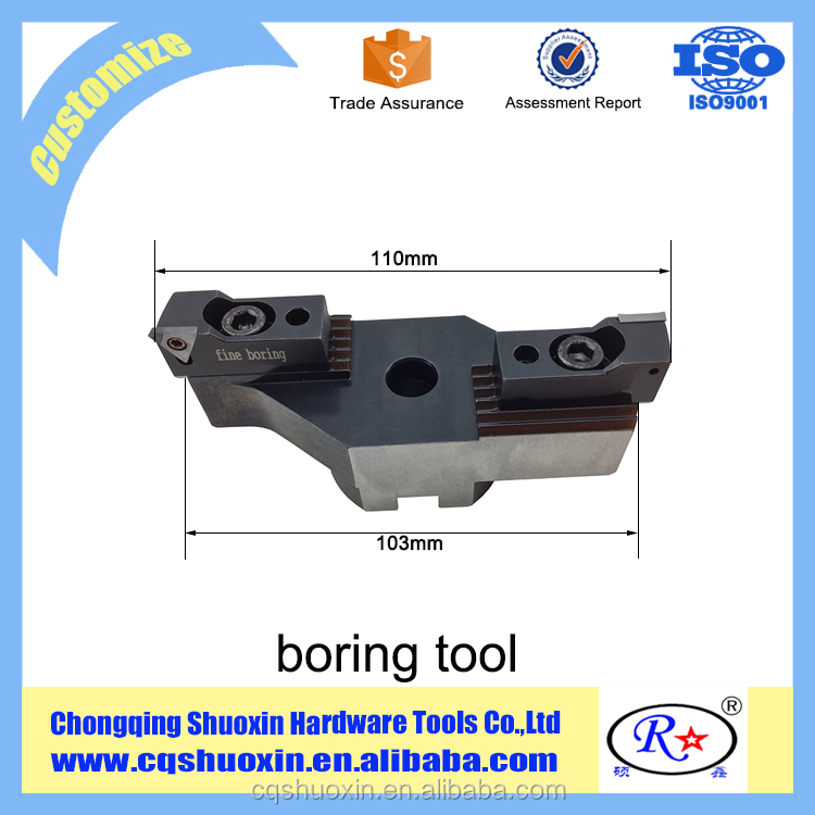 CNC Carbide Boring Tool for Machining Aluminium Alloy