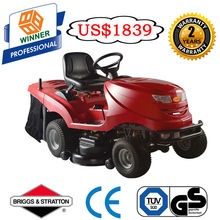 "40"" Riding on Mower with grass catcher"