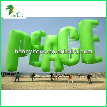 giant inflatable letters