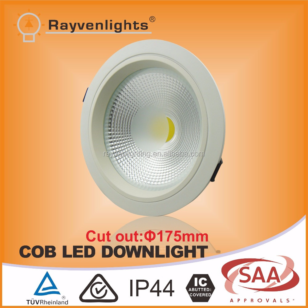 15W Aluminum COB Dimmable led downlight