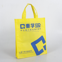 Non Woven Material Cloth Bags Reusable Grocery Polypropylene Advertising Shopping Bags