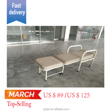 Cheap hospital foldable bed, hospital furniture for sale