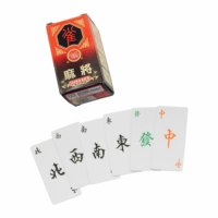custom size paper mahjong playing cards