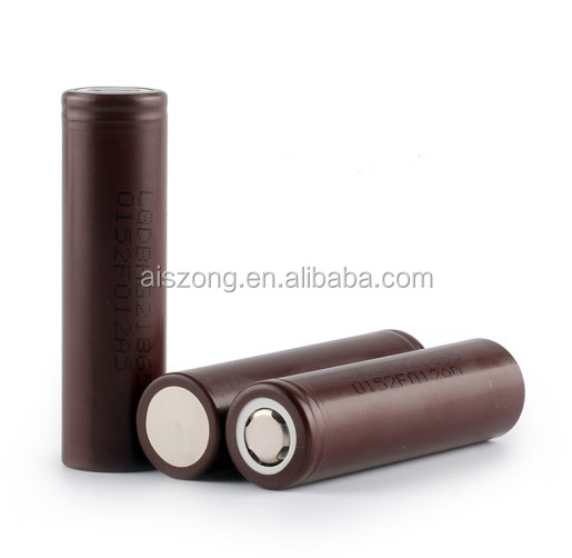 Wholesale In Stock Flat Top Hot Selling Mod Chocolate Hig Drain rechargeable battery for toys cell Lg Hg2 18650 Battery