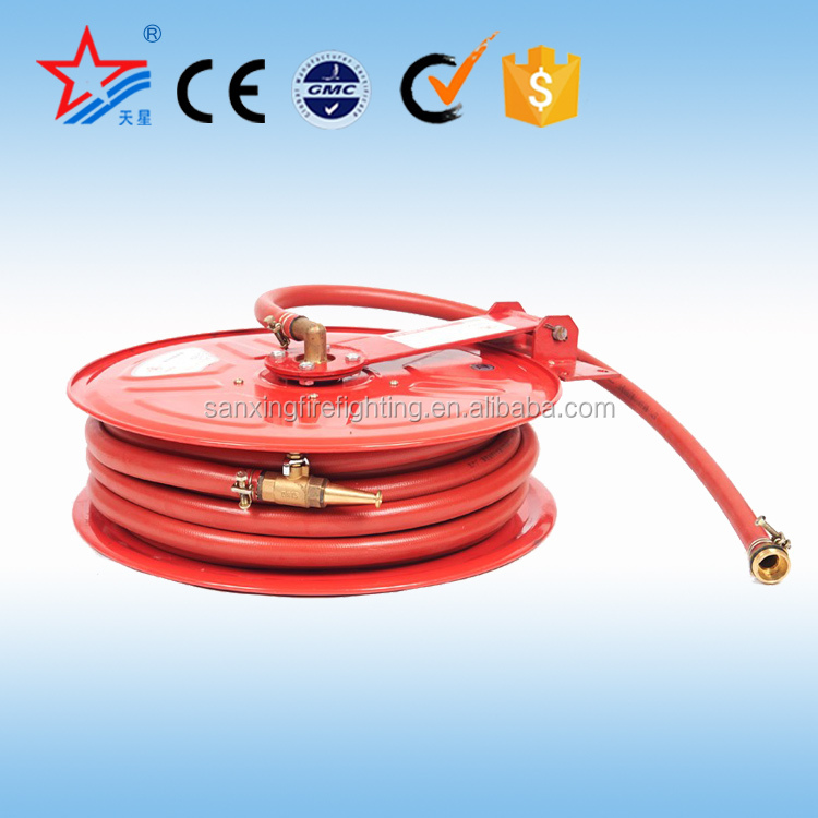 "Great design high quality Swing Type 1"" or 3/4"" fire hose reel specification for sale"