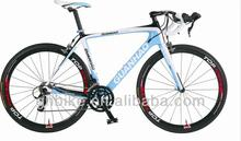 2014 new design high quality cheap price CE approved 700C full carbon road bike bicycle carbon fiber frame