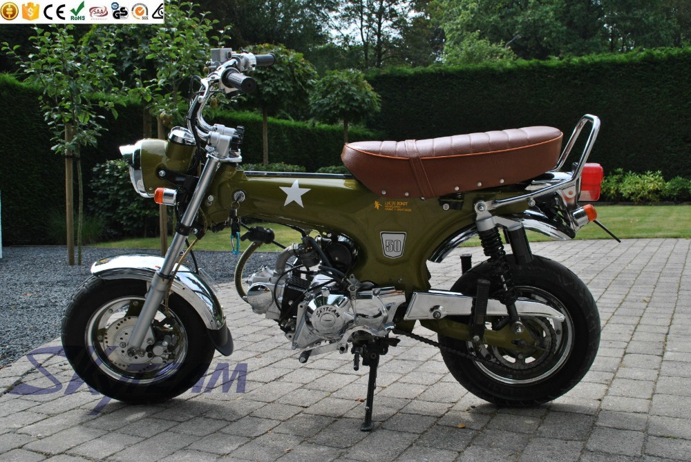 skyteam 50cc and 125cc 4 stroke dax skymax motorcycle eec approval with new 5 5l big fuel tank. Black Bedroom Furniture Sets. Home Design Ideas