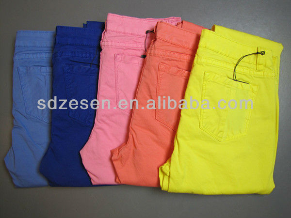 wholesale color skinny jeans para hombres
