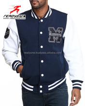 Unisex American Style Baseball Jackets Varsity Letterman University College Baseball Jacket Custom Made Baseball Jacket