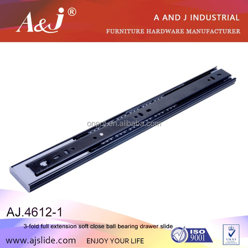kitchen hardware 45mm soft close smart drawer slide