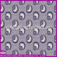 spriral small cute design top selling african printed real wax fabric by China excellent supplier