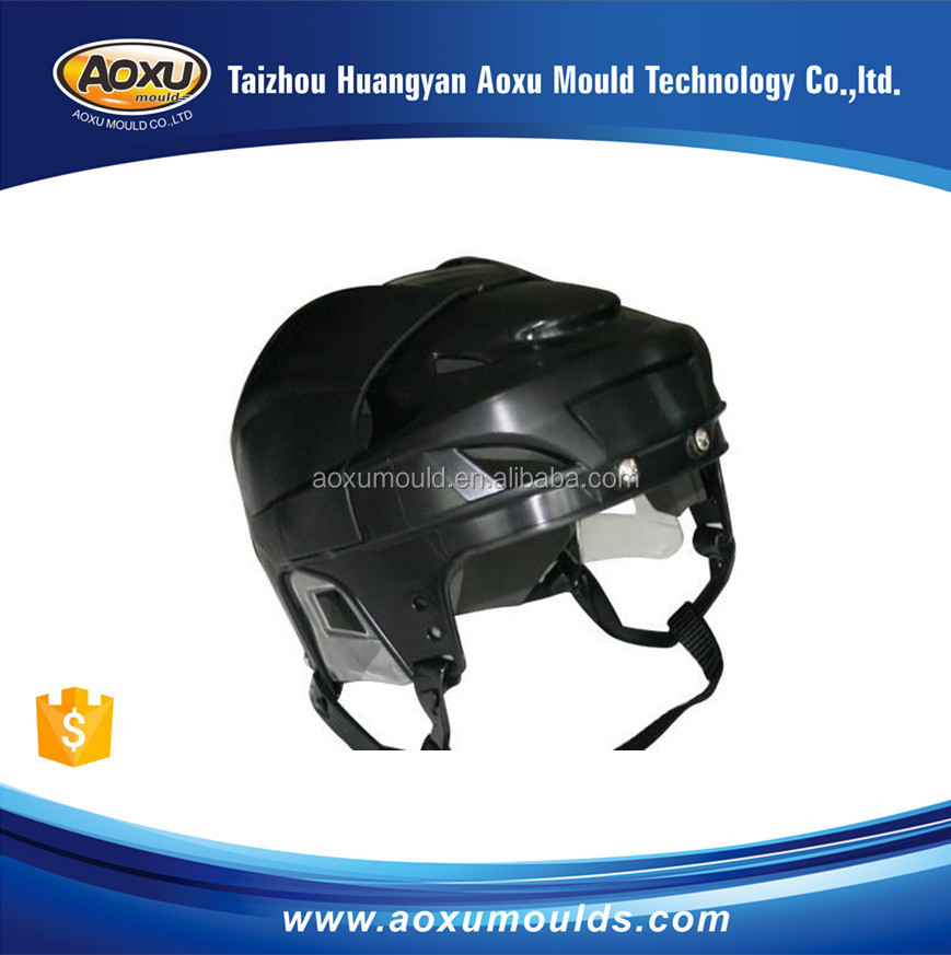 Manufacturing high quality motor helmet mold