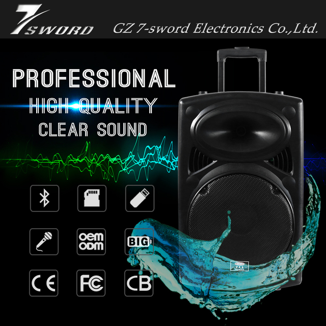 Portable best bluetooth loudspeakers music system with handheld wireless microphone 1 pc dj songs mp3 free download