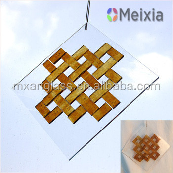 Handmade hanging glass crafts suncatcher for wedding deco wholesale