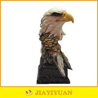 New Product Resin Eagle Head Sculpture for animal head decoration