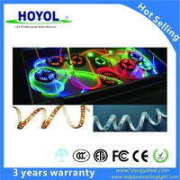 HOYOL 60leds/m outdoor/indoor DC5V programmable RGB WS2812B individually 5050 addressable LED strips lights