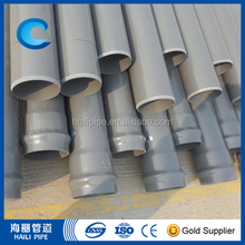 pvc pipe for agriculture irrigation and water supply
