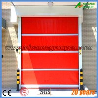 Refrigeration low temperature pvc fast rolling door Refrigerated room dedicated