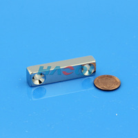 Countersunk Holes rare earth block magnet neodymium magnets n54 uses of bar magnet