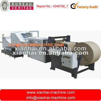 Roll Feed Square Bottom Paper Bag Forming Machine