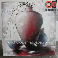 Newest design handpainted still life oil painting abstract paint by numbers