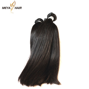 wholesale virgin brazilian double drawn hair, unprocessed hair malaysian
