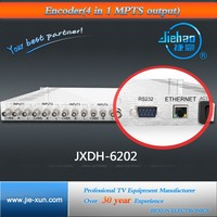 4 in 1 mpeg2 encoder with 4AV input jxdh-6202