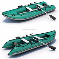 Inflatable fishing banana boat, inflatable pvc boat for sale