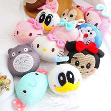 Novelty Cartoon Characters Bath Ball Bath Flower Bathroom Accessories