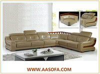 living room furniture modern sofa made of high quality sofa leather