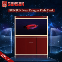 SUNSUN new view fish tank bullet fish tank for office