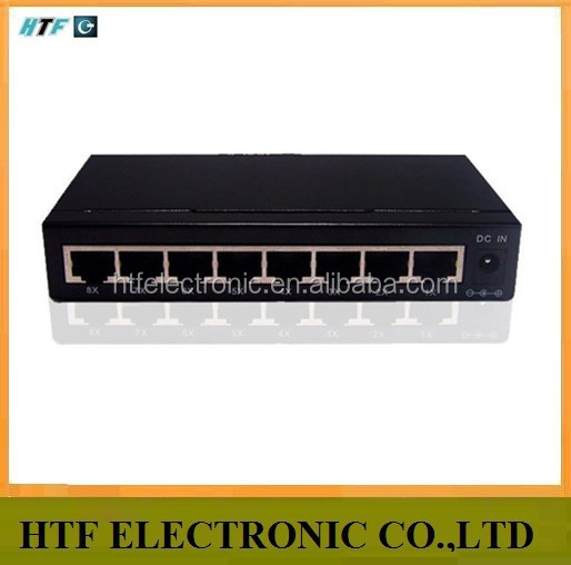 8 port 10/100/1000M RJ45 ports IEEE 802.3u 100Base-TX unmanaged used Gigabit iptv ethernet network switch