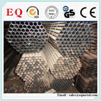 Stainless seamless tube recycled steel pipe